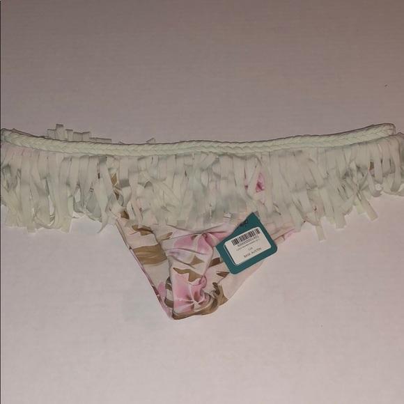 Chloe Rose Swimwear Other - NWT Chloe Rose Fringe Bikini Bottoms